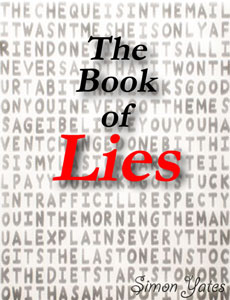 "Cover for ""The Book of Lies"""